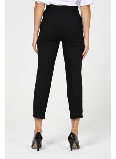 Modaplaza Kadın Pantolon Siyah Siyah